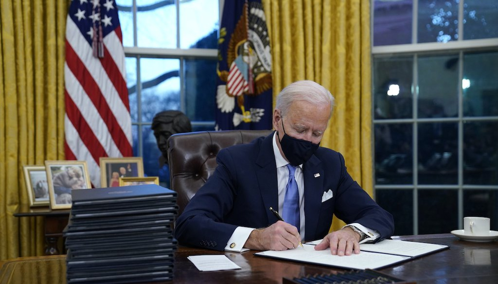 Biden's First Day in the White House Was an Anti-American Disaster